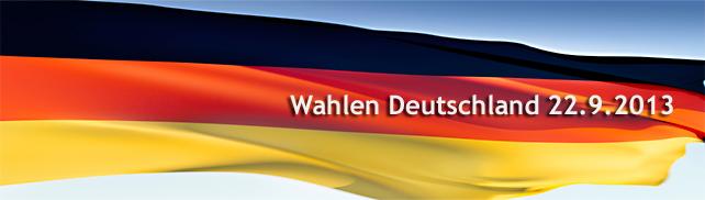 Wahlen Deutschland 22.9.13 – die Kandidaten