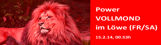 Power Vollmond im Löwen (Freitagabend -> Samstag 14./15.2.) – Wer wird ein STAR?!