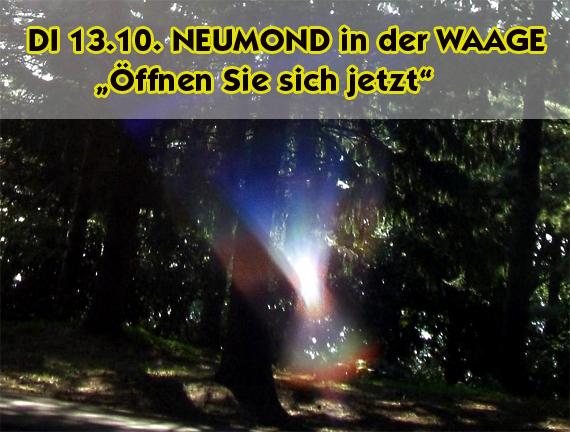 DI 13.10.15 NEUMOND in der WAAGE