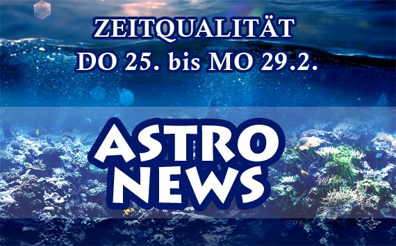 ZEITQUALITÄT DO 25. bis MO 29.2.