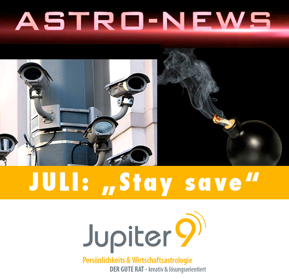 "ASTRO-NEWS JULI – ""Stay Save"""