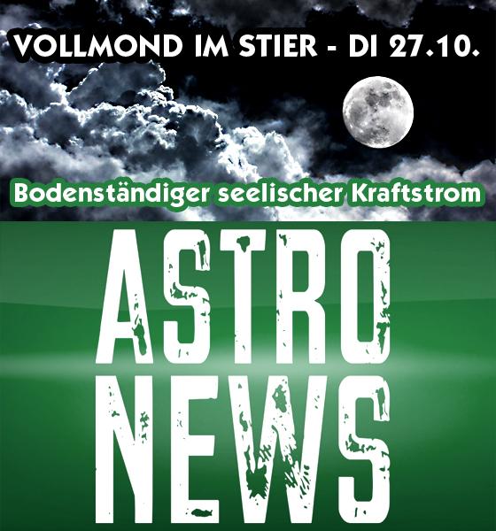 VOLLMOND IM STIER – DI 27.10. – bodenständiger seelischer Kraftstrom