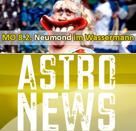 MO 8.2. Neumond im Wassermann – super Voraussetzungen für einen Neuanfang.